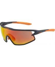 Bolle B-rock gafas de sol de fuego tns negro y naranja mate