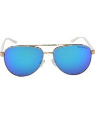 Michael Kors Mk5007 59 deportivo oro color de rosa 104525 gafas de sol blancas