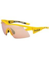 Bolle Vortex amarilla modulador tdf subió las gafas de sol del arma