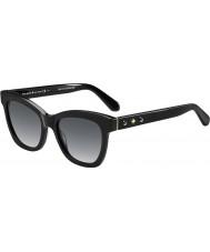 Kate Spade New York Señoras Krissy-s 807 gafas de sol negras f8
