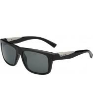 Bolle Clint negro brillante polarizado gafas de sol tns