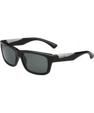 Bolle Jude negro brillante polarizado gafas de sol tns
