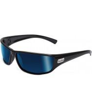 Bolle Python negros polarizados gafas de sol azules marinos