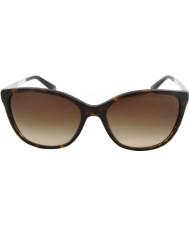 Emporio Armani Ea4025 55 modernas gafas de sol oscuras Habana 502613