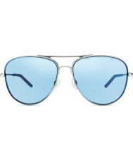 Revo la velocidad del viento Re1022 ii cromo - agua polarizado gafas de sol azules
