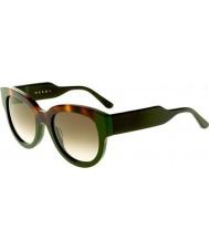 Marni Damas me600s Habana y gafas de sol verdes