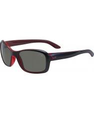 Cebe gafas de sol de color rosa de cristal negro mate Idilio