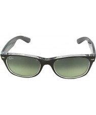 RayBan Rb2132-52 superior caminante bronce de cañón nueva cepillado en gafas de sol transparentes 6143-71