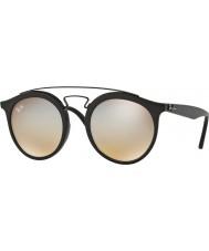 RayBan Rb4256 49 Gatsby negro mate 6253b8 gafas de sol de espejo gris